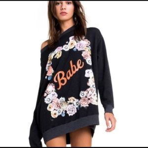 Wildfox Babe roadtrip sweater